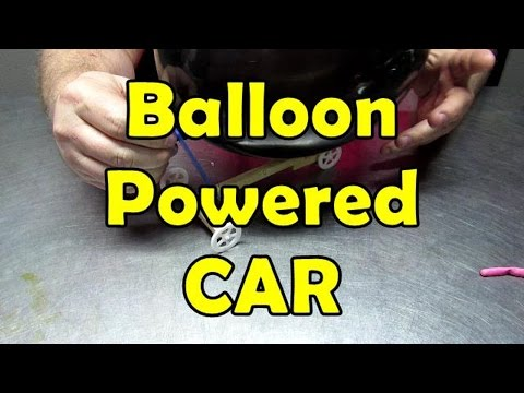 Thrust and the Balloon powered car