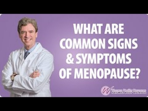 What Are Common Signs And Symptoms Of Menopause? - Women's Healthy Hormones
