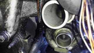 Laguna Ii Test Of Turbocharger Oil Leak