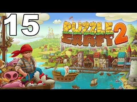 Puzzle Craft 2 - Gameplay Walkthrough Part 15 - Level 15 (iOS)