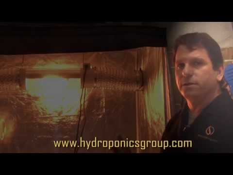 Low Temperature Grow Light - The Cool Tube from Hydroponics Group
