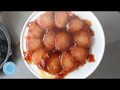 Apple Tarte Tatin - Kitchen Wisdom - Martha Stewart