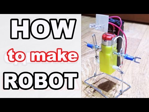 How To Make a Walking Robot At Home (Awesome)