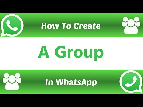 How To Create A Group in WhatsApp For Android Phone