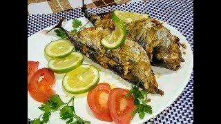 سمكة تونة في فرن على طريقة المطاعم بتتبيلة رائعة