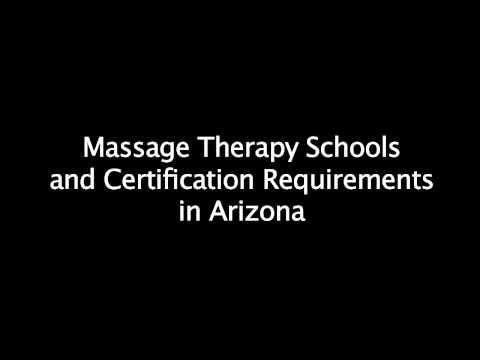 Massage School Requirements in Arizona