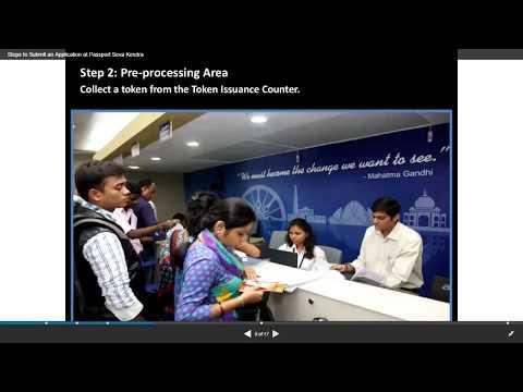 Passport Seva Kendra or Passport office procedure