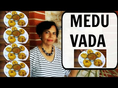 Medu Vada Recipe   Easy Urad Dal Vada Recipe   How to make Medu Vada at home - Curry for the Soul