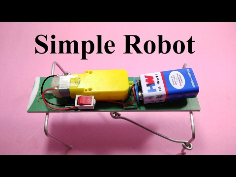 How to make Robot Very simple walking robot