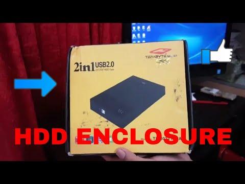 💼  📁 TERABYTE HDD ENCLOSURE | 👍USE INTERNAL HDD AS EXTERNAL HDD