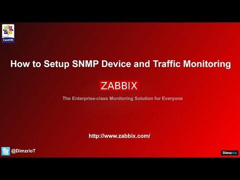 [Lab 13] Zabbix Tutorial - SNMP and Traffic Monitoring