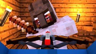 Granny vs Villager Life 4 - Granny Horror Game Minecraft Animation