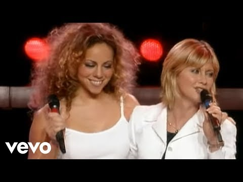 Mariah Carey, Olivia Newton-John - Hopelessly Devoted to You (from Around the World)