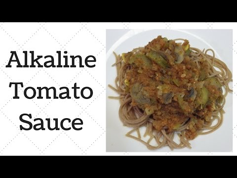 Tomato Sauce Dr.Sebi Alkaline Electric Recipe