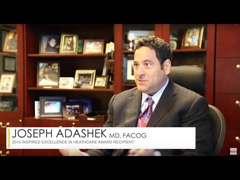 Honoree Joseph Adashek, M.D., FACOG - 2015 Inspired Excellence Awards