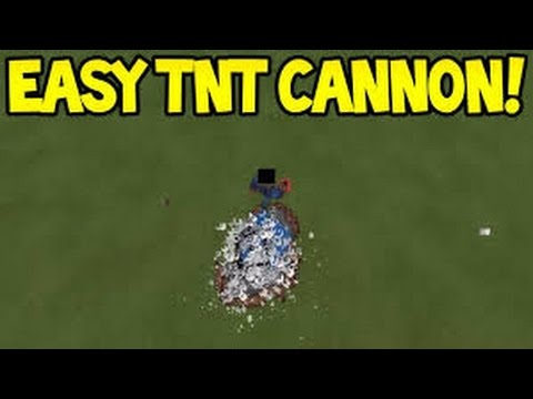 Minecraft : PS3,PS4,XBOX360,XBOXONE,PC - How to make TNT cannon
