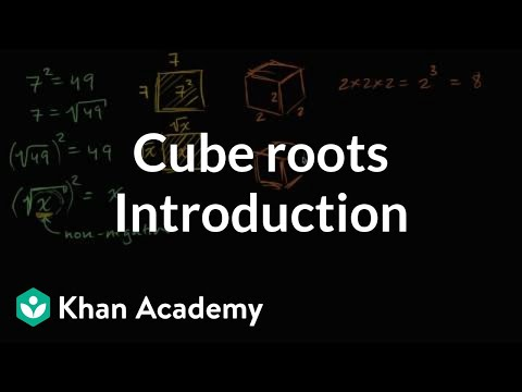 Introduction to cube roots | Numbers and operations | 8th grade | Khan Academy