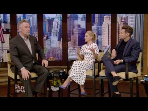 Alec Baldwin on How His Daughter Compares to His Boys