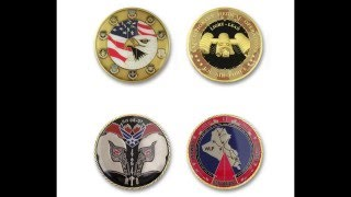 My collection  custom challenge coins. Air Force Challenge Coins US