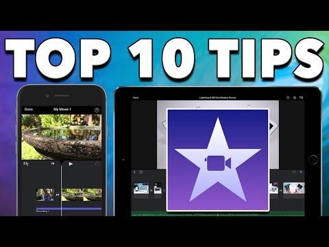 iMovie for iPad & iPhone - Top 10 Tips & Tricks for Mobile Editing 2016