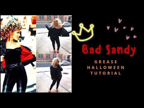 Bad Sandy (Grease) Halloween Look