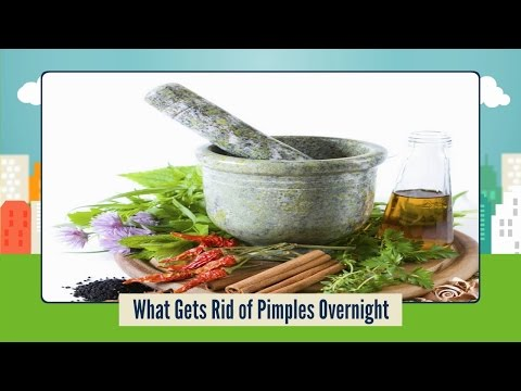 What Gets Rid of Pimples Overnight - Natural Remedies for Pimples