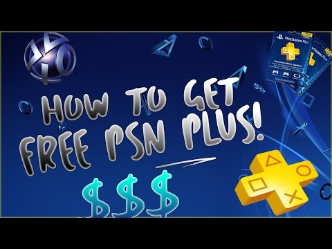 HOW TO GET PSN PLUS FOR 100% FREE! (WORKING 2017)