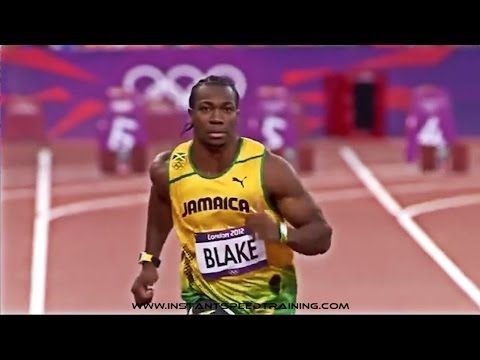 Olympic Sprinters Using Speed Bands | Speed Training