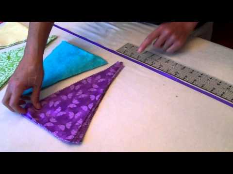 Making Bunting - The Daily Sew