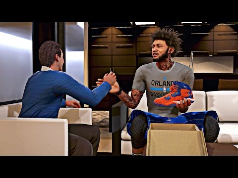 NBA 2K16 MyCAREER - Jordan Signature Shoe Endorsement !