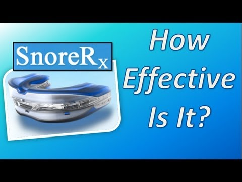 SnoreRx: How Effective Is The SnoreRx Mouthpiece?