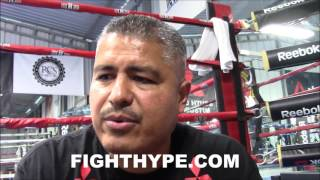 ROBERT GARCIA REVEALS HOW MIKEY GARCIA PREPARED FOR ADRIEN BRONER DIFFERENT THAN MAIDANA; 150 ROUNDS