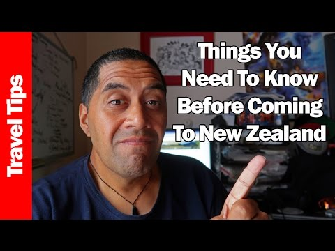 THINGS YOU NEED TO KNOW BEFORE COMING TO NEW ZEALAND!   My Tips & Thoughts