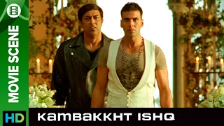 Akshay does not believe in marriages | Kambakkht Ishq | Movie Scene