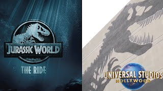 Download New ″Jurassic World - The Ride″ Details at Universal Studios Hollywood! | Construction Update Video