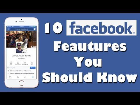 10 Facebook Features You Should Know (2017)