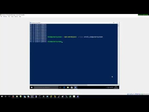 How to get Computer name with Powershell