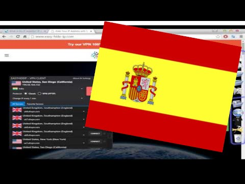 How to Get a Spanish Ip Address! (Spain Vpn With Proxy list) Software