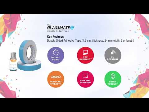 6 Steps to Follow for Easy Installation of Glass Using SGG Glassmate Double Sided Tape