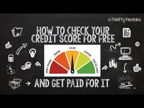 How To Check Your Credit Score For Free & Get Paid For Doing It