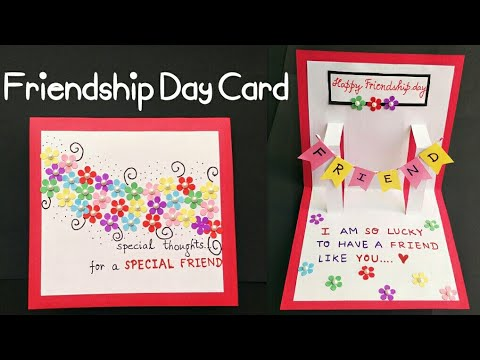 How To Make Homemade Birthday Cards For Best Friends Christmas Gifts