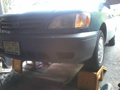 How to do Front end tire alignment on a Toyota Sienna 2001 also 98-2003