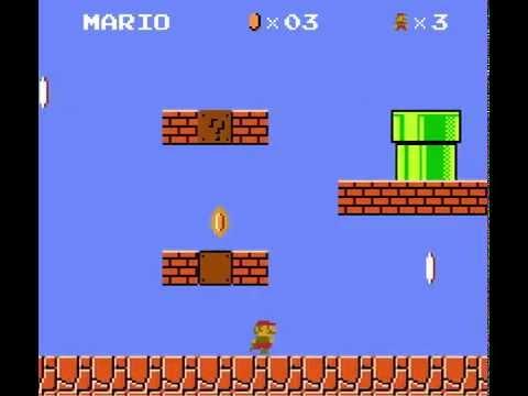 Super Mario made in Scratch (version 10)