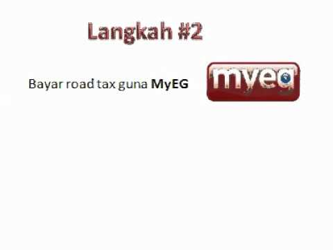 2 step to renew roadtax
