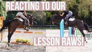 Reacting To Our Lesson  Equestrian Prep