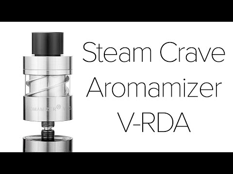 Steam Crave Aromamizer Vortex V-RDA Review
