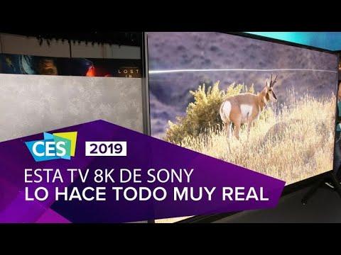 Estos son los nuevos TV Sony 8K y 4K para 2019