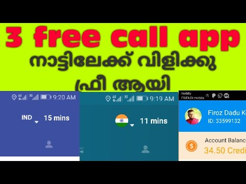 3 free call app iphone and Android