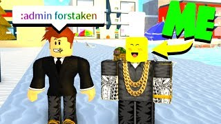HACKING TOFUU AND USING BAD ADMIN COMMANDS! (Roblox)