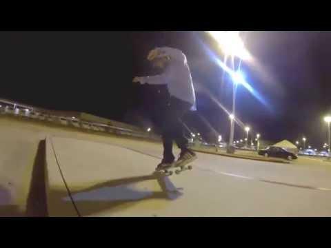 Justin O'Neill Skateboarding...